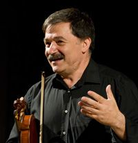 "Former Abram Shtern student, Igor Polesitsky, 50, principal violist of the Maggio Musicale Orchestra in Florence, Italy, describes his mentor as ""kind of a natural genius of the violin, who could play violin lying down on the floor or sitting in an armchair."""