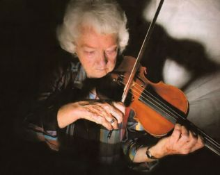 "Violinist Irma Neumann has worked on countless films, TV shows and commercials. Neumann began participating in scoring sessions nearly 60 years ago. In 1953, she played for ""Titanic"" under composer Sol Kaplan and in 1997 for ""Titanic,"" scored by James Horner. She has played for Alex North, Bernard Herrmann, Dmitri Tiomkin, Henry Mancini and Randy Newman, on films ranging from ""Butch Cassidy and the Sundance Kid"" to ""M*A*S*H"" to ""Cleopatra."" Her recent credits include the ""The Matrix Revolutions,"" the coming HBO adaptation of ""Angels in America"" and the soon-to-be-released ""The Cat in the Hat."""