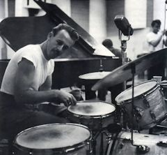 Larry Bunker, 75, is perhaps the most beloved member of the local percussion community. He's played live or on record with a host of jazz greats, including Billie Holiday, Gerry Mulligan and Bill Evans.