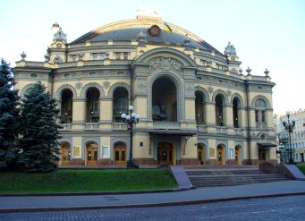 Shevchenko Opera House in Kiev. As concertmaster of the Shevchenko Opera and Ballet Orchestra from 1947 to 1989, Abram Shtern was also a frequent soloist and chamber musician.