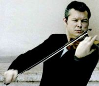 Concert Violinist Vadim Repin visits Abram Shtern at home whenever he's performing in town.